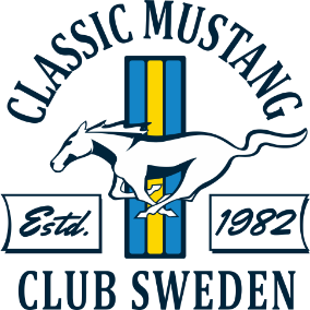 Classic Mustang Club Sweden Logotyp