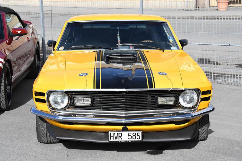 Mustangens födelsedagsfirande