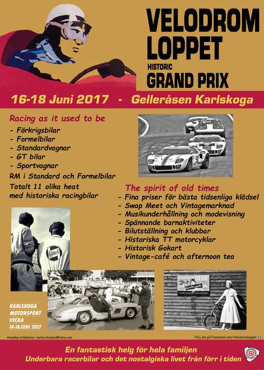 Velodromloppet Gelleråsen Karlskoga , 16 – 18 Juni
