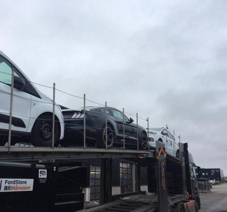 Första Bullitt Mustangen hos Bil-Månsson