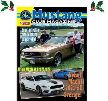 Mustang Club Magazine #4 2020